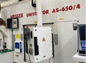 Weisser AS 650/4 cnc lathe