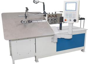 Automatic 2D CNC 2-6mm Steel Wire Bending Forming Machine