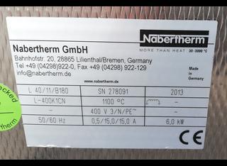 Nabertherm L 40/11/B180 P210823070