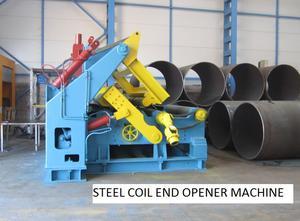 Turkish made steel coil end opener machine