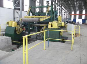 Spianatrice di lamiera Made in Turkey Cut to Length Line