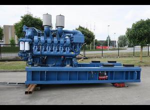 Gruppo elettrogeno MTU 12V4000