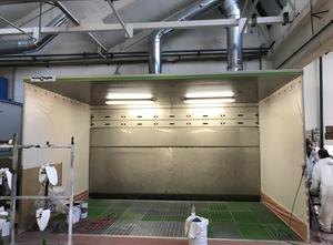 Cabina de pintura TECNO ASPIRA SRL CVZ5
