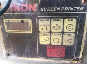 Máquina de serigrafía WINON WSC350AB