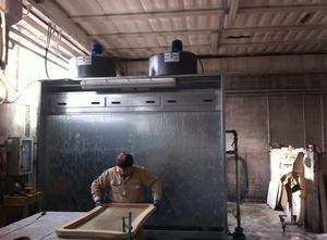 Cabina de pintura TECNO ASPIRA SRL CVZ3