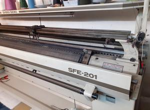Maszyna dziewiarskia płaska SHIMA SFE 201 T