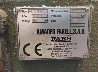 AMADEO FARELL. S.A. FAES HC1.15AA P210909068