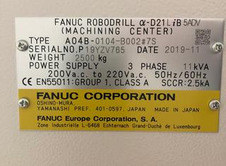 FANUC ALFA-D21LiB5 ADVANCE P210913066