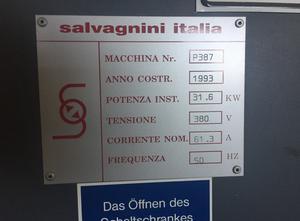 Piegatrice Salvagnini S4_0385 +P4_0387 model 2220