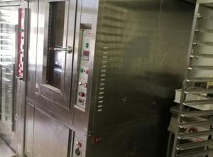Cimav Forno Rotor a gas 9 teglie + camera di lievitazione CIMAV mod.TSR9 40X60 GAS Rotary oven
