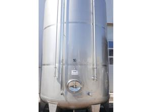 Used Lagertank V2A 34 000L Tank