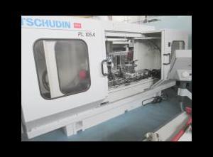 Gebrauchte TSCHUDIN PL 105 A Spitzenlose Rundschleifmaschine