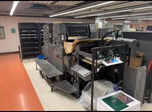 Heidelberg MOZP-S Offsetdruckmaschine 2 Farben