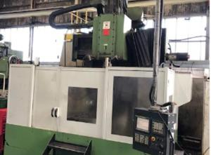 """Webster and Bennett 48"""" EV-CNC Table type boring machine CNC"""