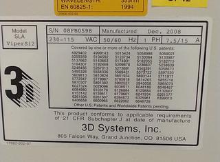 3d systems inc. Viper Si2 P210928051