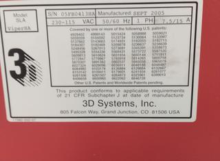 3d systems inc. Viper HA P210928055