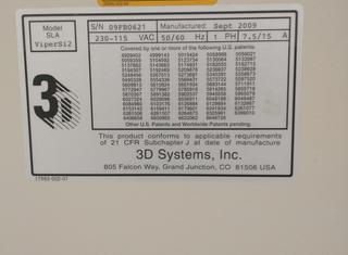 3d systems inc. Viper Si2 P210928056