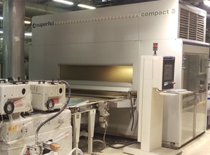 SUPERFICI Compact 3R Spraying machine