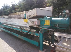 Used Filter press DIEMME SPA AUT 630-5400