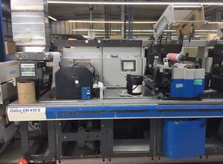 Gallus EMS410 Servo Flexo Press P211006016