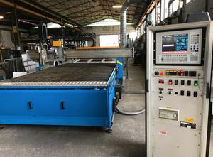 Máquina de corte por plasma / gas TECNOITALIA CNC PLASMA CUTTING